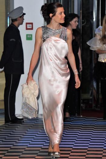 Шарлотта Казираги на дебюте на Rose Ball