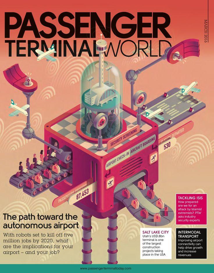 Autonomous Airport on Behance