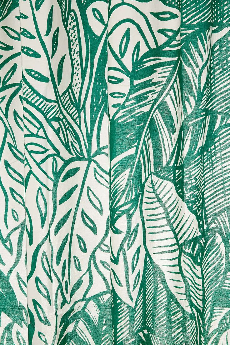 Saskia Pomeroy Plants Shower  Curtain $49  UrbanOutfitters.com: Awesome stuff…