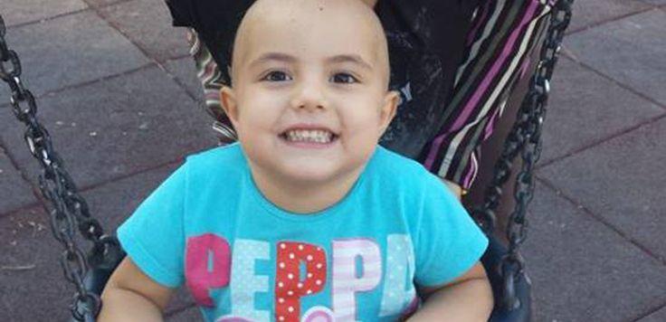 Giada, tre anni, combatte con la leucemia nella Terra dei Fuochi. Troppi bambini si ammalano