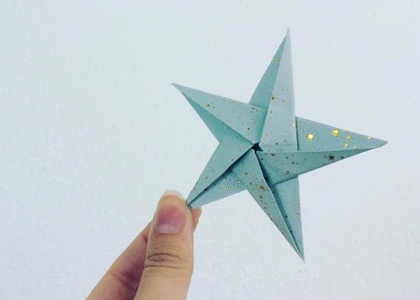 How to fold a beautiful star? Check out my blog.