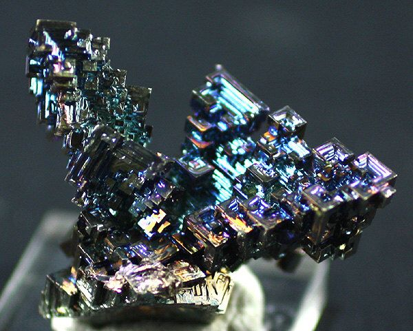 Bismuth, Laboratory-grown Crystals  - Mineral Specimen for Sale by BandLMinerals on Etsy https://www.etsy.com/listing/252466677/bismuth-laboratory-grown-crystals