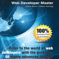 Online Web Developer Master Program is a comprehensive course on web development. The course is spread across 06 months duration. The course emphasizes on all the concepts of website development that are crucial for creating web pages using advanced programming languages such as HTML5 & CSS3, JavaScript, jQuery, AJAX, PHP, My SQL, etc.
