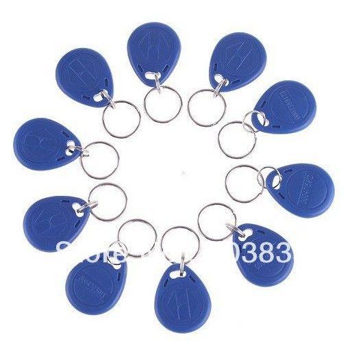 N° 2; 100 unids/lote Tarjeta RFID 125 KHz Tarjeta Inteligente Rfid tag (bule rojo amarillo)