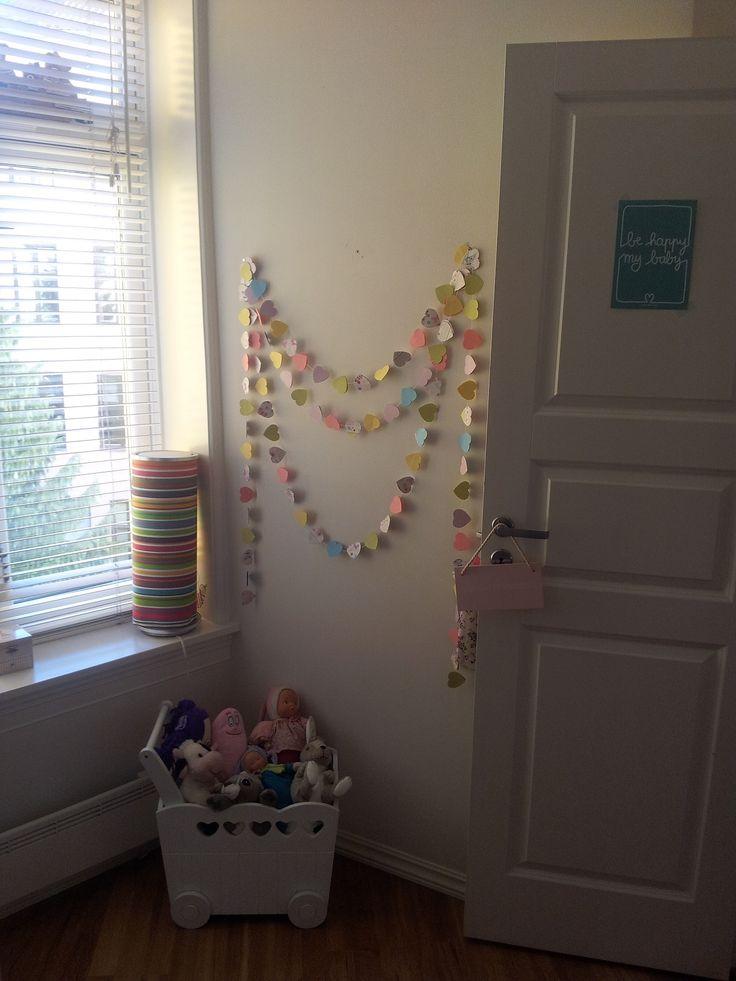 Garlands for kids room <3 Girlander <3  Guirlandes <3  Min Lykke www.minlykkecreation.com