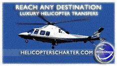 Luxury Helicopter Transfers