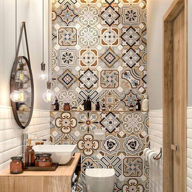 #banheiros #bathroom #decoracion #decoração #decor #instahome #instadecor #instahomedecor #paredes #wall #azulejos