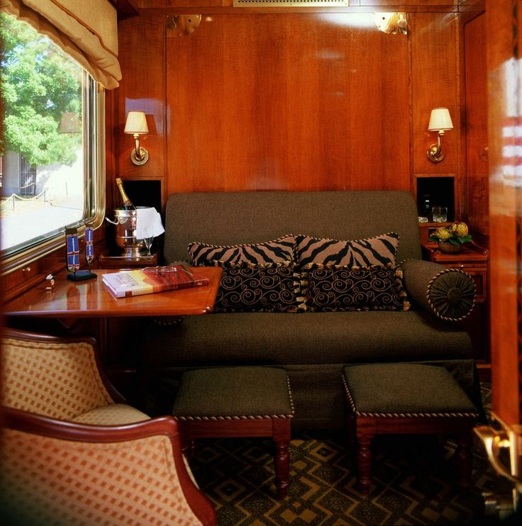 The Blue Train Luxury Suite by day