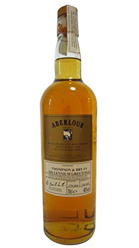 Aberlour – Thompson & Bryan Millennium Greetings – 1989 10 year old Whisky: Aberlour Whisky Unboxed 70cl / 700ml