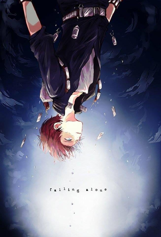 Crying Cute Boy Wallpaper Quot Falling Alone Quot Todoroki Shouto Boku No Hero Academia