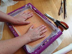Как сделать палитру для акриловых красок - Ярмарка Мастеров - ручная работа…