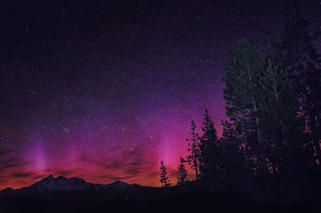 Northern Lights in Oregon.