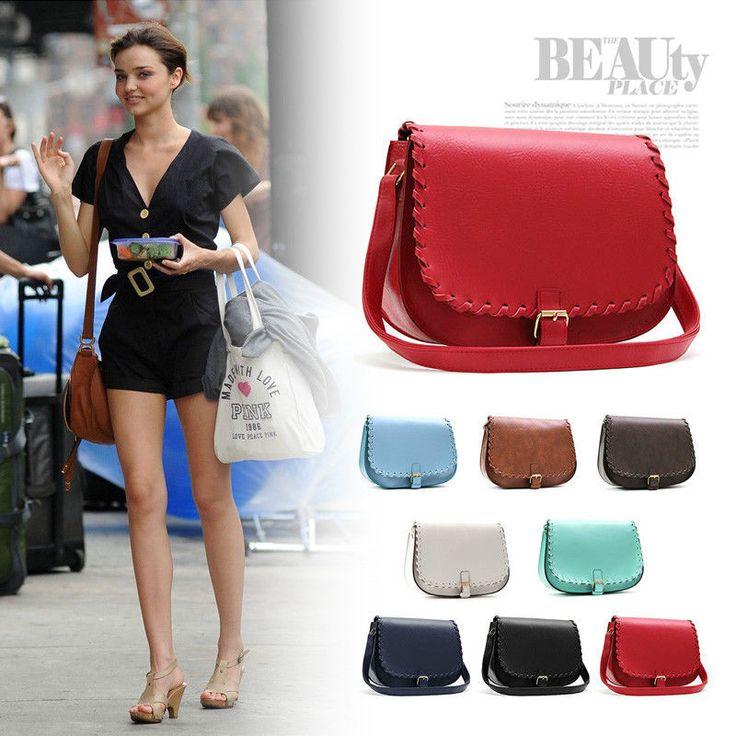 New Style Ladies Shoulder Bag Vintage Messenger Cross body Satchel Handbag