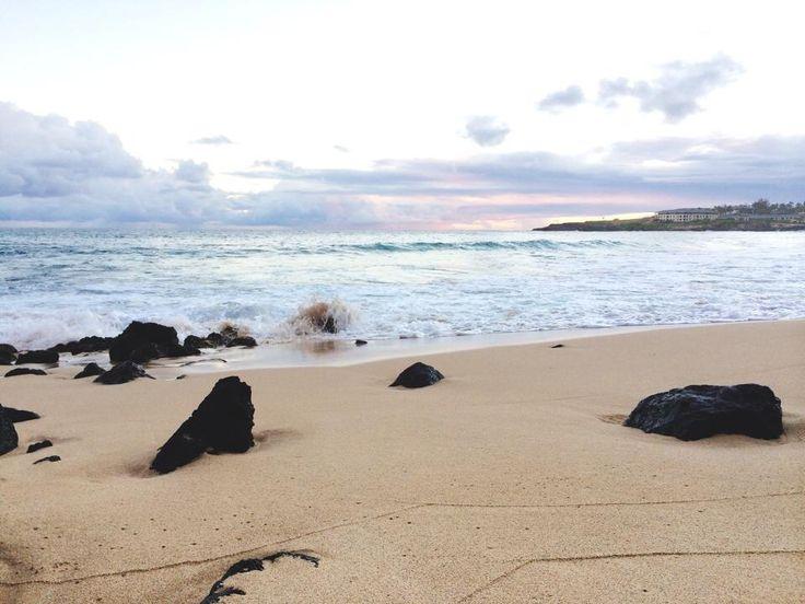 Hawaiian sunset Shipwrecks Beach Kauai Courtesy of Weddingshawaii.com