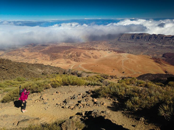 Disney hadr:) Úžasný výstup na nejvyšší horu Špěnělska - El Teide!