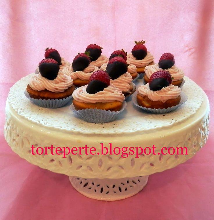 Torte per te: Cupcakes alle fragole