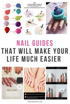 10 Easy DIY Nail Hacks, Tips, Tricks and Tutorials You can do instead of spending time and money on the salon | nail shapes | nail art | home manicure | DIY nails > Find out more @ http://www.hedonistit.com