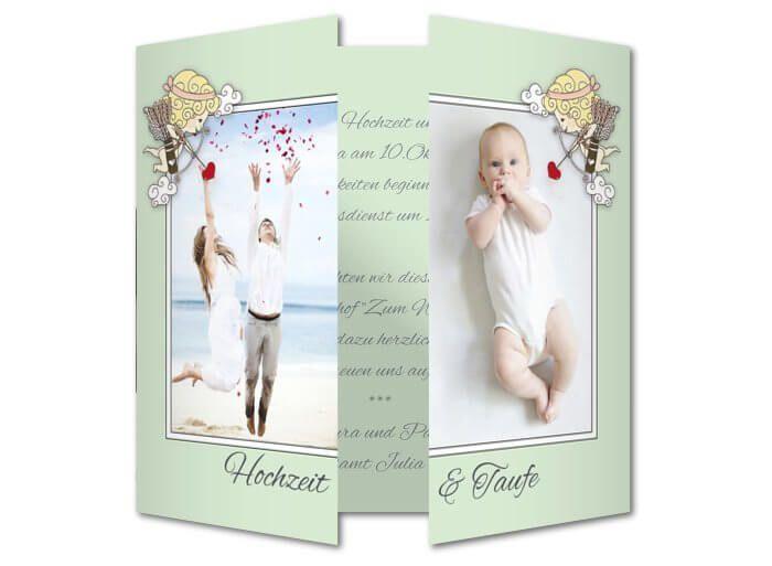 Einladung Hochzeit Und Taufe Einladungen Hochzeit Karte Hochzeit Einladungen