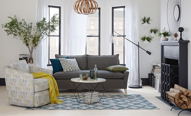 West Elm Bright Brownstone Living Room I Feel Like This Is What I M Going For In The Living