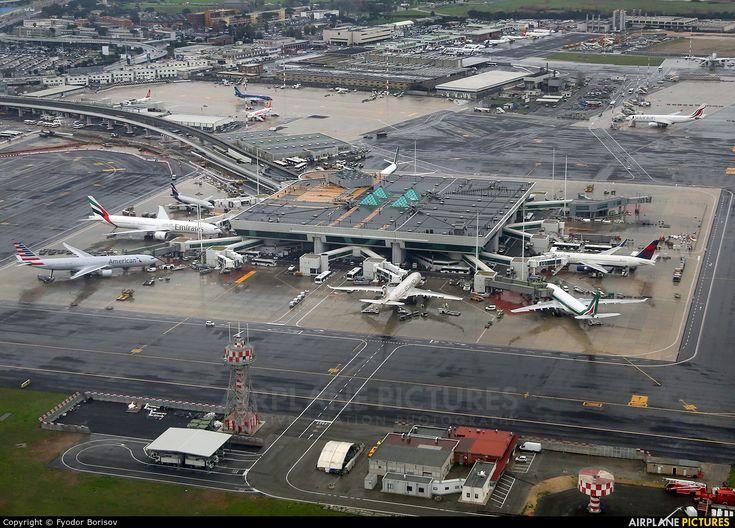 Rome S Fiumicino Leonardo Da Vinci International Airport