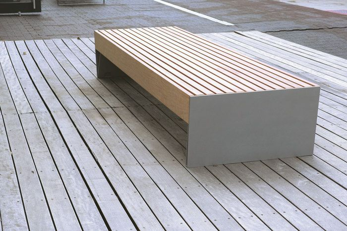 mmcité - products - park benches - blocq