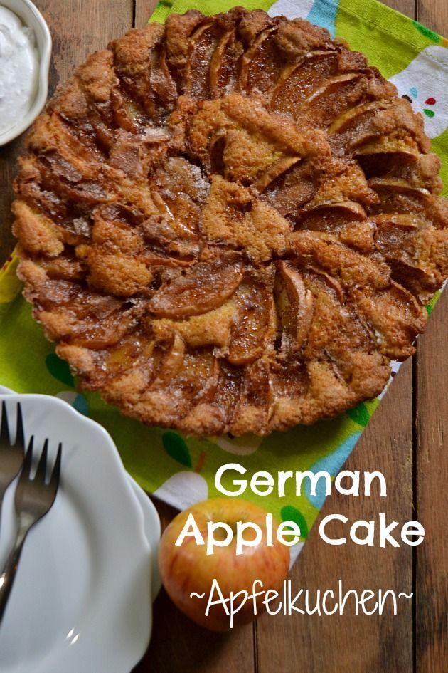German Apple Cake {Apfelkuchen}