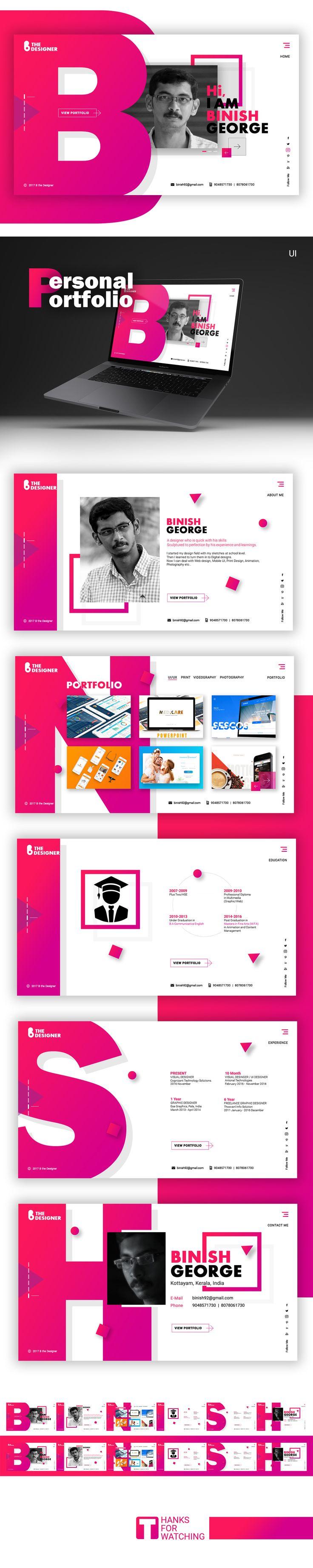 My Web Portfolio Design