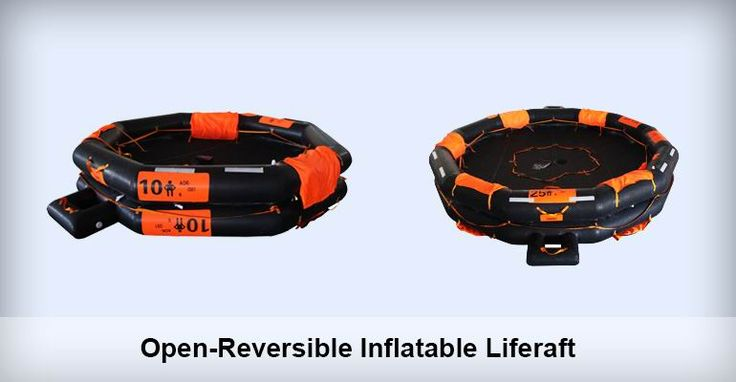 Open-reversible Inflatable liferaft is suitable for installing in vessels sailing on international voyages as life-saving equipment.  Email us at: grandoceanmarine@gmail.com