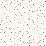 Creative Thursday Just For Fun Dots Multi White [AF-6047-TL] - $9.95 : Pink Chalk Fabrics is your online source for modern quilting cottons and sewing patterns., Cloth, Pattern + Tool for Modern Sewists