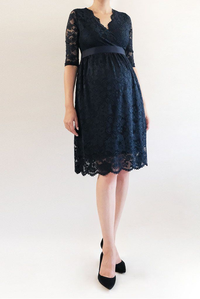 68ec69ec75d34 Maternity Lace Dress, Short Maternity Dress, Lace Maternity Gown - This short  maternity dress is just so stunning! The knee-length lace dress is perfect  for ...