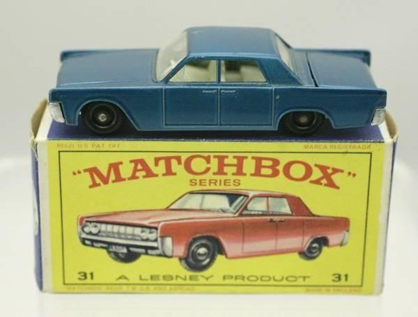 Lesney Matchbox No. 31 / Lincoln Continental / Metallic Blau in Wetzikon ZH von cyan74 kaufen bei ricardo.ch