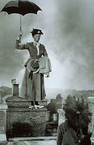 Mary Poppins movie still, c.1964