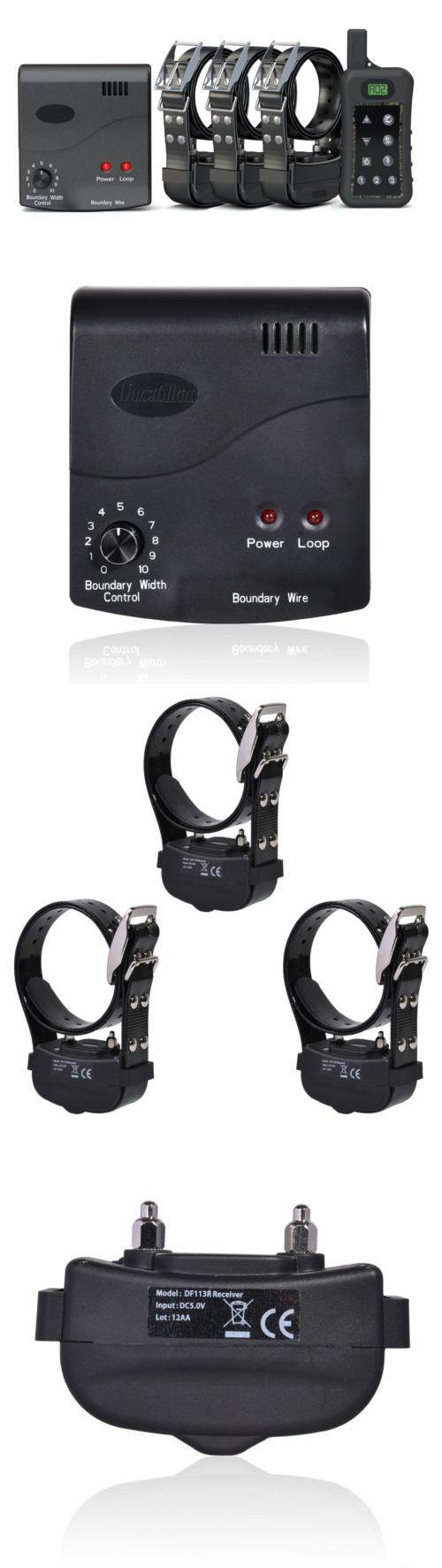 electronic fences electric dog fence wireless remote training shock collar waterproof u003e