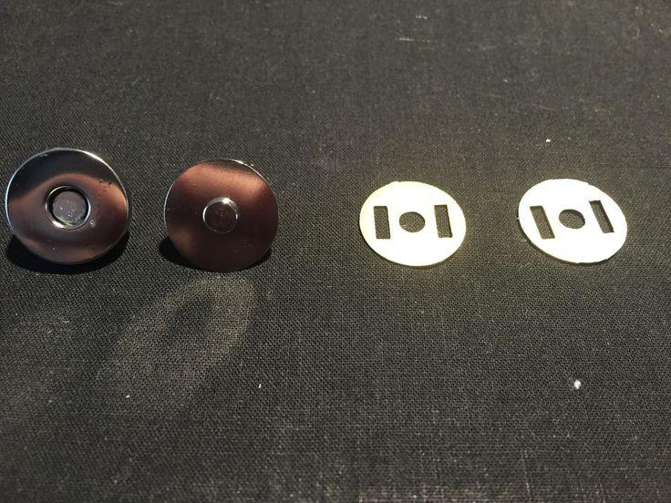 Tuto technique : comment poser un bouton aimanté (ou fermoir magnétique)
