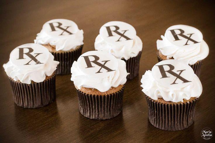 Cupcake Personalizado para o Curso de Radiologia