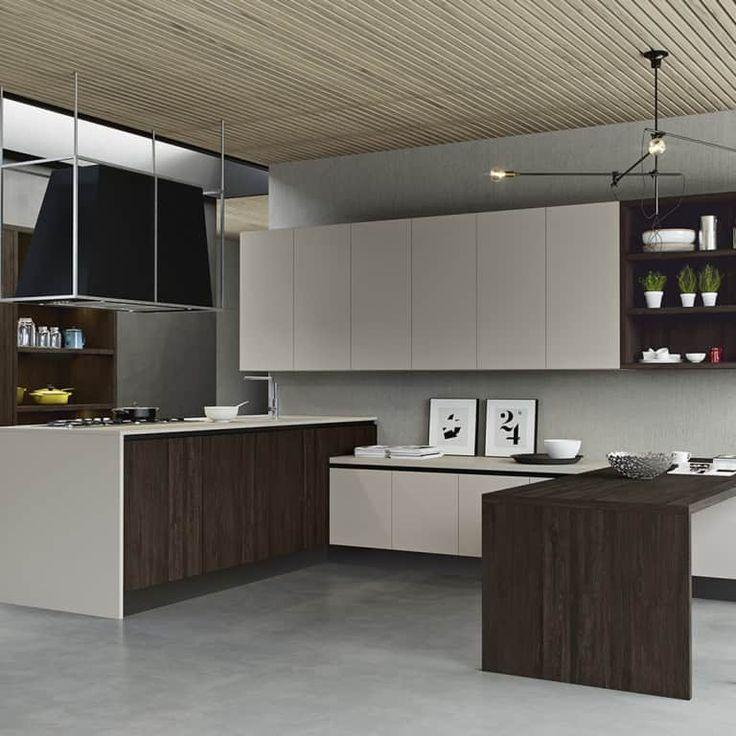 Cucine moderne con penisola a padova trova la tua cucina con penisola da arredamenti meneghello - Cucine moderne penisola ...