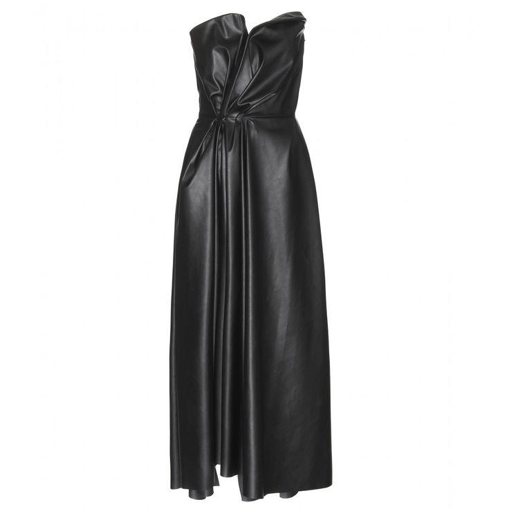 mytheresa.com - Draped dress - Midi & long - Dresses - Clothing - Lanvin - Luxury Fashion for Women / Designer clothing, shoes, bags
