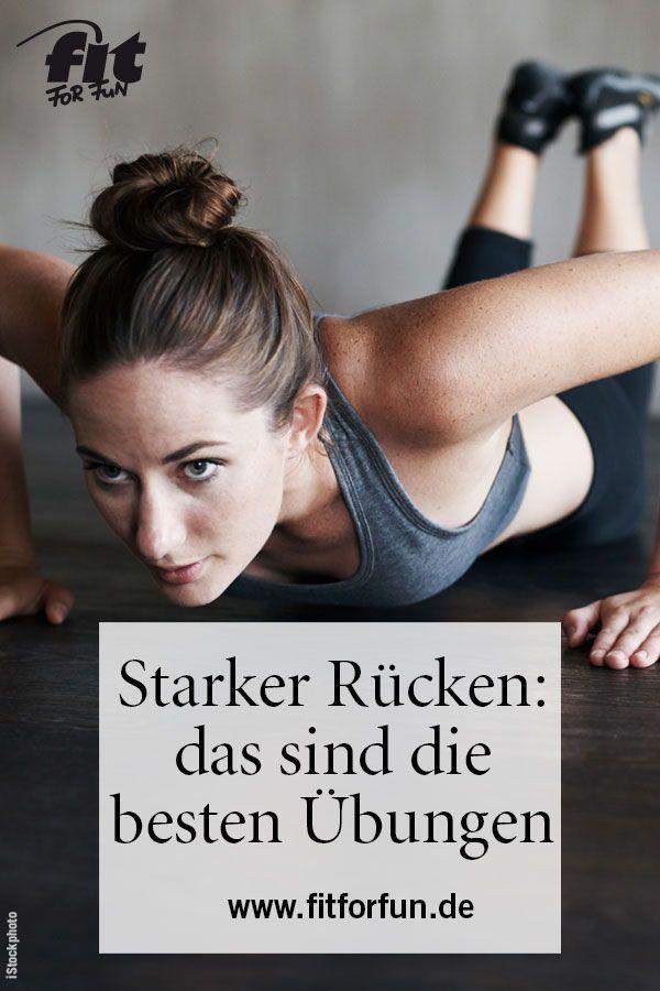 Rückenübungen: Workouts für einen starken Rücken