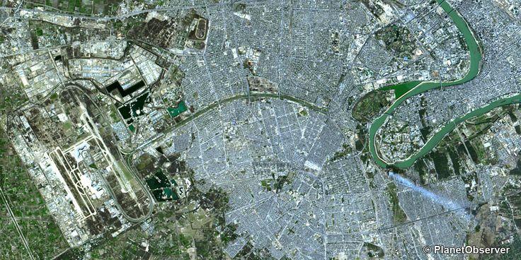 Baghdad, Iraq – PlanetSAT 15 L8 satellite image
