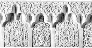 арабский лепной декор фриз Ar006