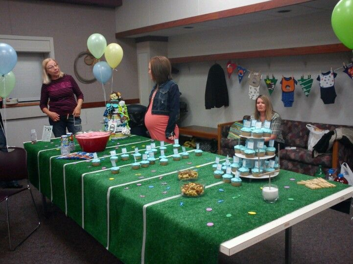 51 Best Sports Theme Baby Shower Images On Pinterest   Shower Ideas, Boy Baby  Showers And Baby Shower Parties