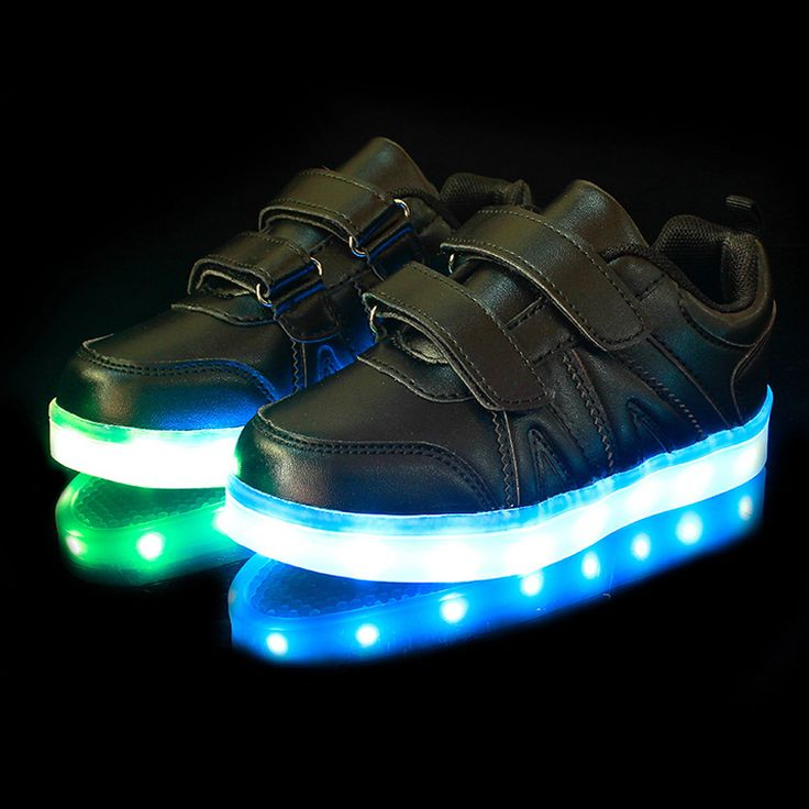 this kids LED light up shoes for boys and girls very fashionable ,many  france…