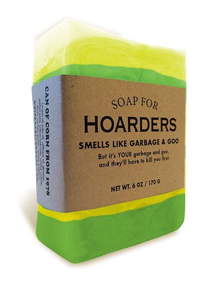 Soap for Hoarders