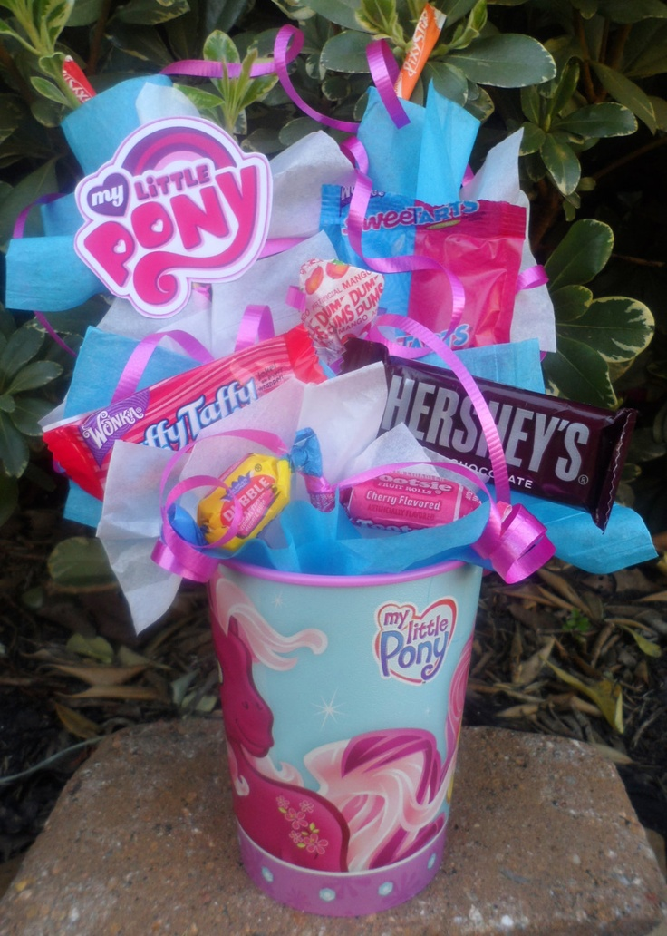My Little Pony Kids Candy Party Favor Made to Order. $4.75, via Etsy.