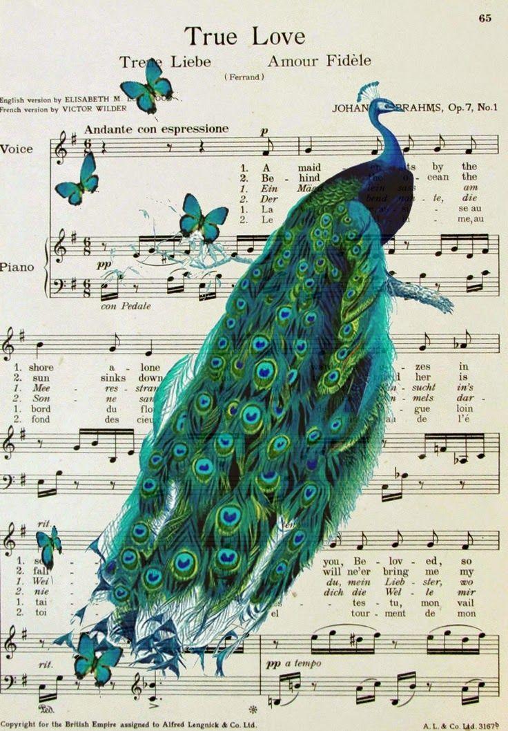 free printables vintage music sheet Imprimolandia: láminas