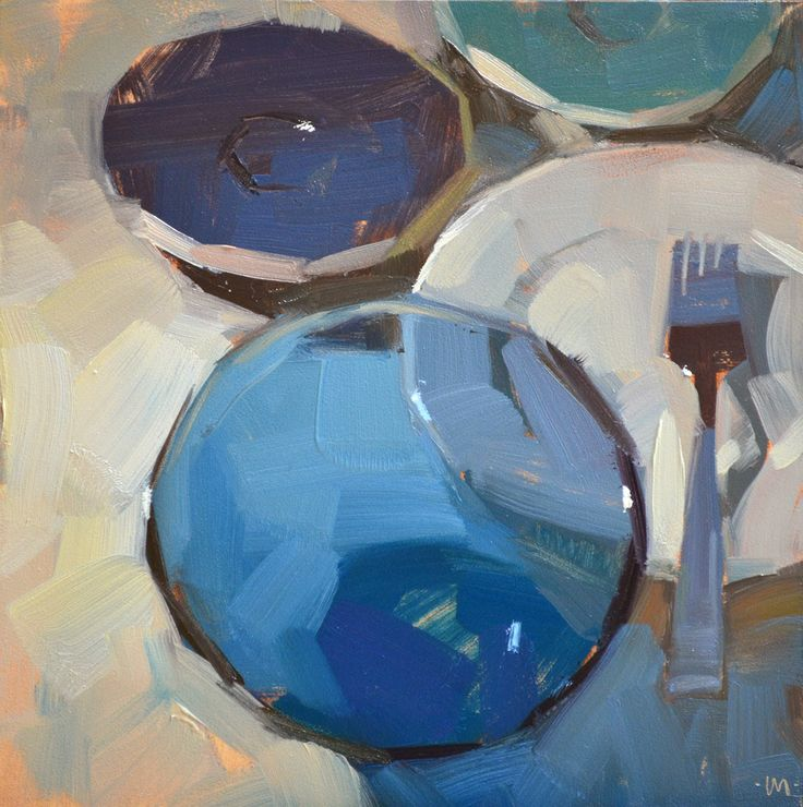 Carol Marine - Receding Dishes