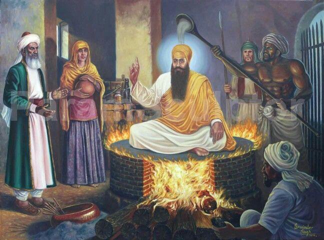 Guru Arjan Dev Ji Martyrdom