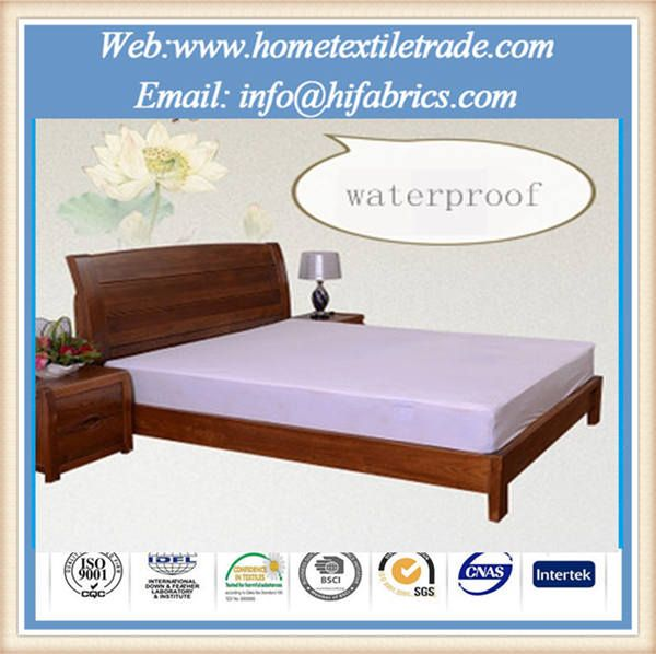 Image of White Hospital Hotel Bed Waterproof Cover Cheap Wholesale Mattress Protector in Virginia Beach Quick Details: Material: Polyester / Cotton Style: Plain Pattern: Plain Dyed Technics: Woven Size: twin or custom Age Group: Adults Feature: Anti Dust Mite, Anti-Pull, Waterproof, breathable Use: Home, Hospital, Hotel Place of Origin: Jiangsu,... Read more »