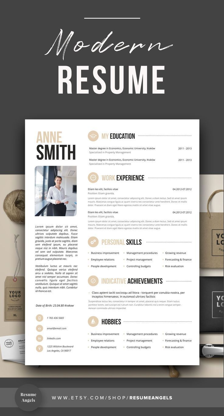 Resume Template Resume Template Word Resume With Picture Cv Cv Template Resume With Cover Lette Resume Tips Job Resume Resume Template Professional