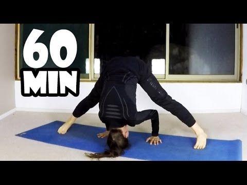 Виньяса йога на все тело   Личная практика   60 мин - YouTube